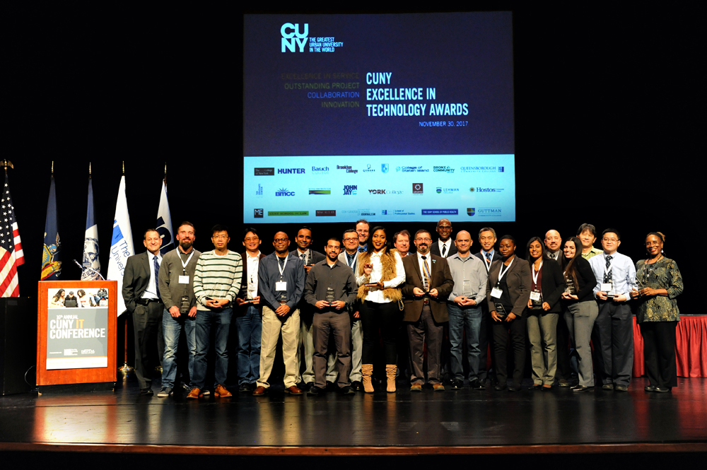 CUNY IT Conference Award Winners